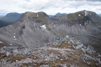 Scree on rocky habitat