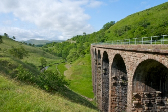 Smardale nature reserve and viaduct - copyright John Morrison
