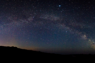 milky way night sky - copyright Ed Marshall