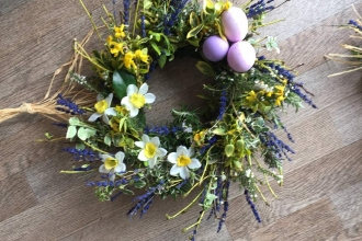 Helen's Herbs. Herb wreath