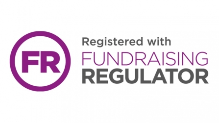 image of Fundraising regulator FR logo