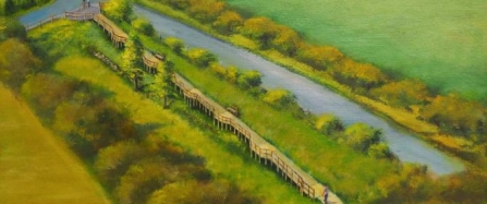 artists impressions of smardale nature reserve development plan- copyright William H Jones