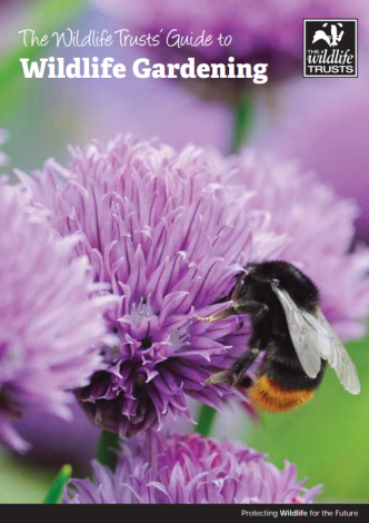 image of Wildlife gardening guide front cover