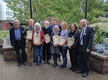 Image of Badger's Paw award winners 2018