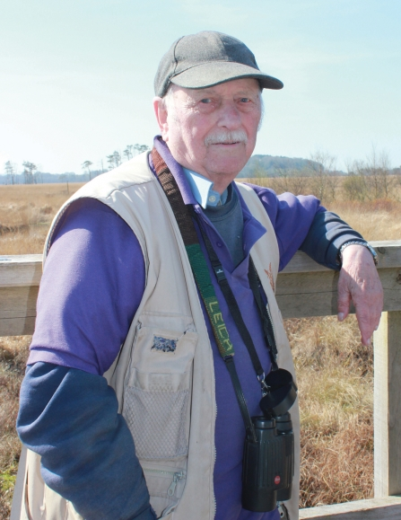 Image of Roland Walmsley at Foulshaw Moss Nature Reserve