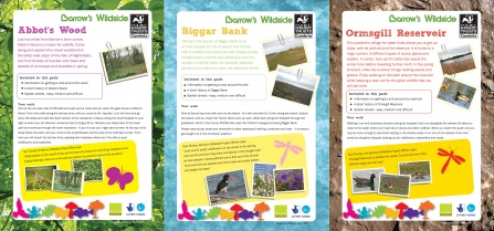 Covers of the guides to wildlife in Barrow