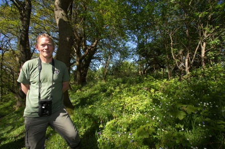 photo of Kevin scott - Northern Reserves Officer at cumbria wildlife trust