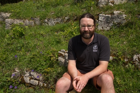 photo of Peter Jones - South Western Reserves Officer at cumbria wildlife trust