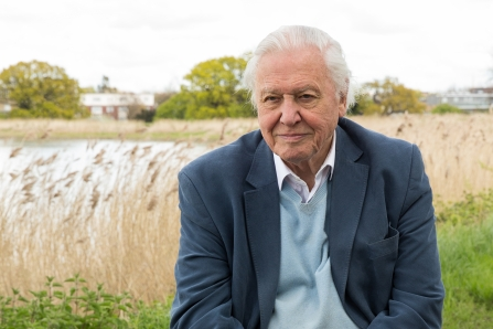 Sir David Attenborough, London Wildlife Trust, Woodberry Wetlands -c- Penny Dixie