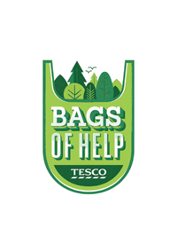 Bags of help - Tesco logo - 200px wide