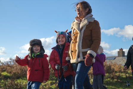 Image of wildlife day at South Walney Nature Reserve