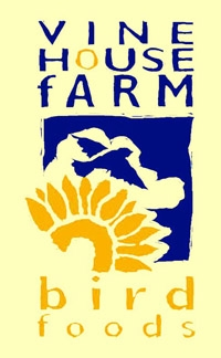 vine house farm bird foods logo