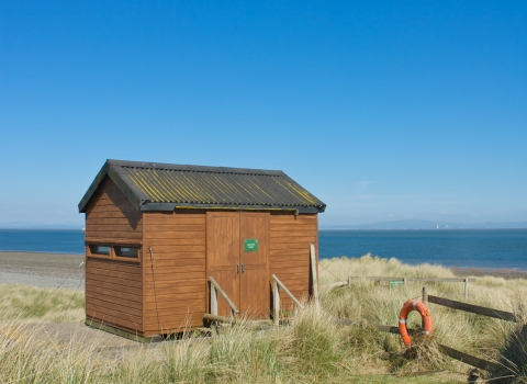 South walney nature reserve bird hide